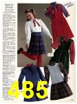1983 Sears Fall Winter Catalog, Page 485