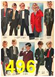 1962 Sears Fall Winter Catalog, Page 496