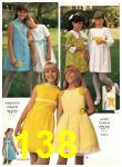 1969 Sears Spring Summer Catalog, Page 138