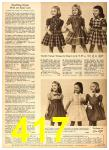 1958 Sears Fall Winter Catalog, Page 417
