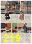 1958 Sears Spring Summer Catalog, Page 219