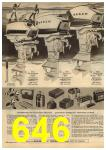 1961 Sears Spring Summer Catalog, Page 646