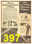 1940 Sears Fall Winter Catalog, Page 397