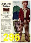 1975 Sears Fall Winter Catalog, Page 296