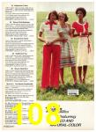 1977 Sears Spring Summer Catalog, Page 108