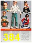 1987 Sears Fall Winter Catalog, Page 384
