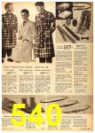 1962 Sears Fall Winter Catalog, Page 540