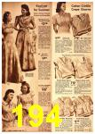 1942 Sears Spring Summer Catalog, Page 194