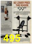 1984 Sears Spring Summer Catalog, Page 495