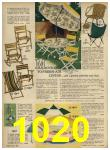 1962 Sears Spring Summer Catalog, Page 1020