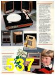1985 Sears Christmas Book, Page 537