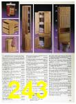 1989 Sears Home Annual Catalog, Page 243