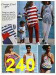 1988 Sears Spring Summer Catalog, Page 240