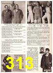 1969 Sears Fall Winter Catalog, Page 313