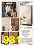 1982 Sears Fall Winter Catalog, Page 981