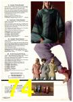1976 Sears Fall Winter Catalog, Page 74