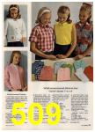 1965 Sears Spring Summer Catalog, Page 509