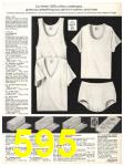 1982 Sears Fall Winter Catalog, Page 595