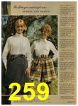 1968 Sears Fall Winter Catalog, Page 259