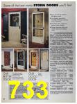 1989 Sears Home Annual Catalog, Page 733