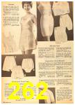 1962 Sears Fall Winter Catalog, Page 262