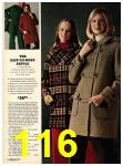 1973 Sears Fall Winter Catalog, Page 116