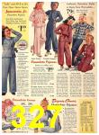 1940 Sears Fall Winter Catalog, Page 327