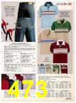 1982 Sears Fall Winter Catalog, Page 473