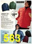 1975 Sears Fall Winter Catalog, Page 583