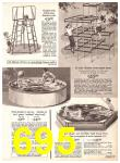 1969 Sears Spring Summer Catalog, Page 695