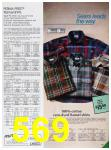 1985 Sears Fall Winter Catalog, Page 569