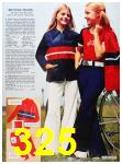 1973 Sears Spring Summer Catalog, Page 325