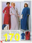 1986 Sears Fall Winter Catalog, Page 170