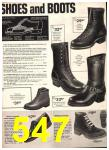 1974 Sears Fall Winter Catalog, Page 547