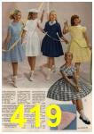 1961 Sears Spring Summer Catalog, Page 419