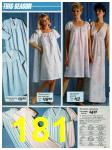 1986 Sears Spring Summer Catalog, Page 181