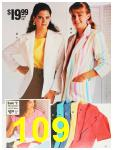 1987 Sears Spring Summer Catalog, Page 109