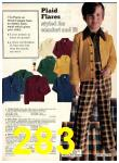 1974 Sears Fall Winter Catalog, Page 283