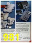 1986 Sears Fall Winter Catalog, Page 981