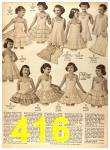1956 Sears Fall Winter Catalog, Page 416