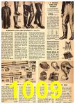 1949 Sears Spring Summer Catalog, Page 1009