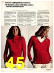 1973 Sears Fall Winter Catalog, Page 45