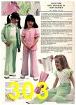 1974 Sears Spring Summer Catalog, Page 303