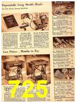 1940 Sears Fall Winter Catalog, Page 725