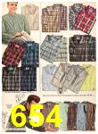 1956 Sears Fall Winter Catalog, Page 654