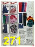 1986 Sears Fall Winter Catalog, Page 271