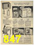 1965 Sears Fall Winter Catalog, Page 847
