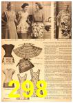 1958 Sears Spring Summer Catalog, Page 298