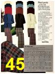 1978 Sears Fall Winter Catalog, Page 45