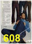 1972 Sears Fall Winter Catalog, Page 608